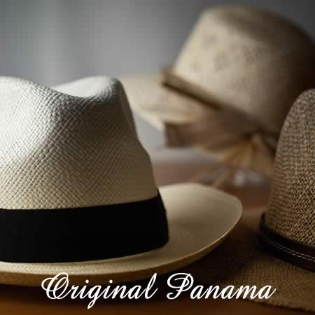 high quality and original Panama strawhats...