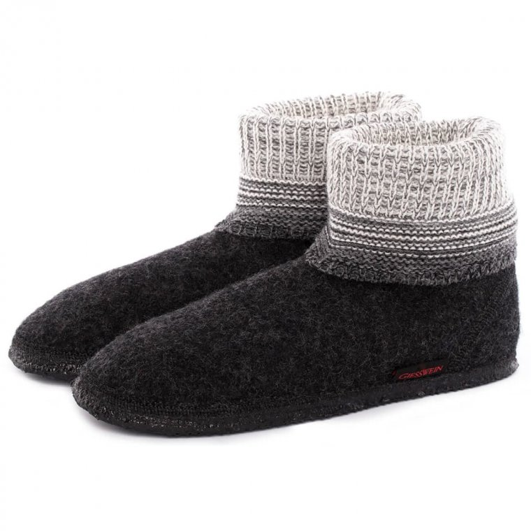 The robust high slippers in wool model Baumkirchen by Giesswein bed6c05df87