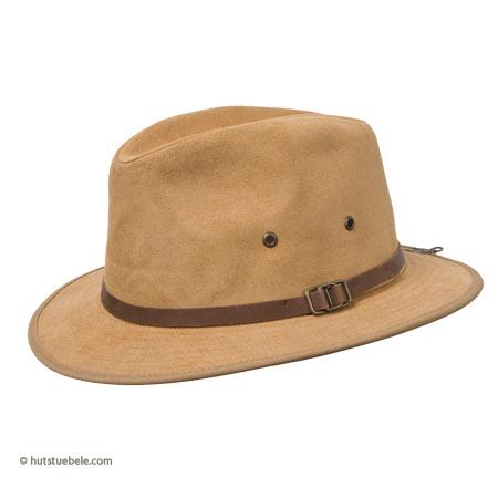 Cappello in pelle ruvido da uomo 09a3a95f8489