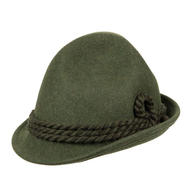 buon servizio il più grande sconto rivenditore all'ingrosso HUTTER   cappello da cacciatore in feltro lana con cordone lana