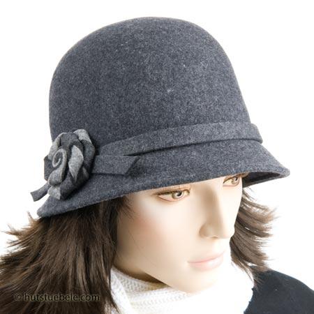 Grazioso cappello da donna in feltro di lana, EUR 39,90 ...