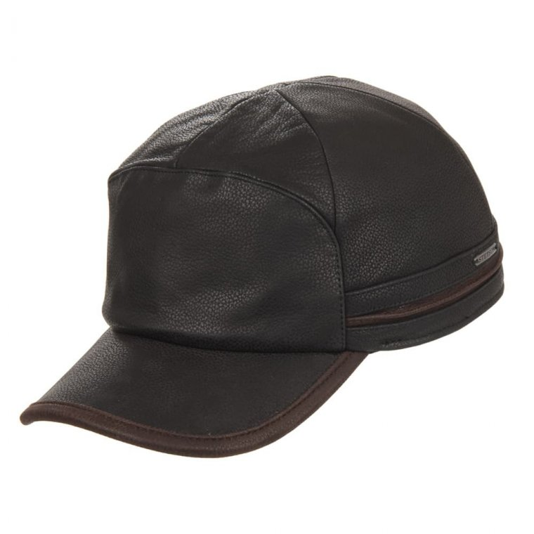 f2fc0dcdf basecap Byers Cowhide by STETSON , EUR 119,00 --> Online Hatshop for hats,  caps, headbands, gloves and scarfs