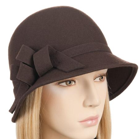 womans hat cloche with a small brim 749fbd7c6e45