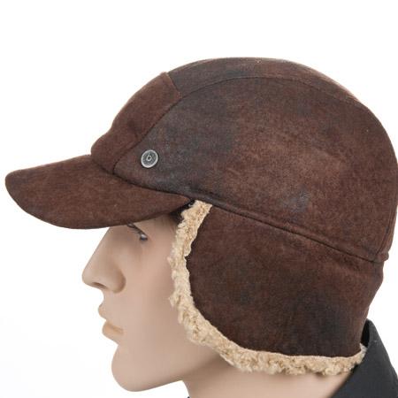elegante nello stile ultime tendenze meticolosi processi di tintura berretto da baseball con paraorecchie berretto con visiera e fodera calda