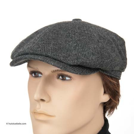 Brooklyn wool merino flat cap by Stetson a4610b5f688