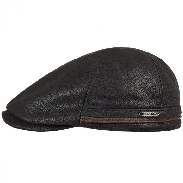 berretto piatto in pelle Redding by Stetson, EUR 119,00 --> cappelleria  Hutstuebele - cappelli e berretti per uomo donna.