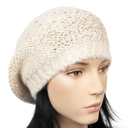 Hutter - cappello basco con accenti luccicanti