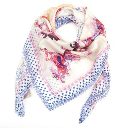 molto carino b3e60 4185a foulard in seta da donna by Passigatti