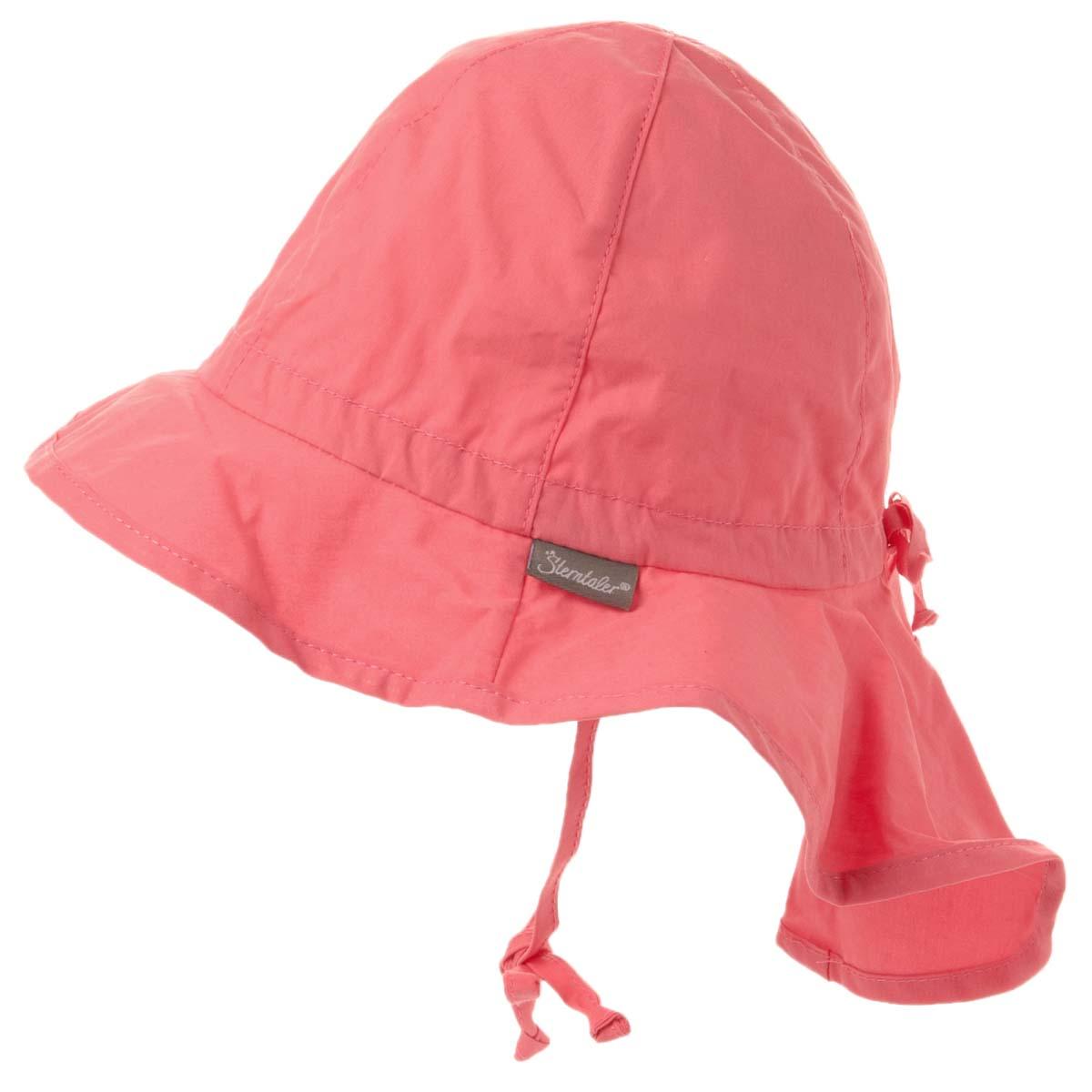 Cappello Con Pannello Solare : Cappello con coprinuca in tessuto protezione solare