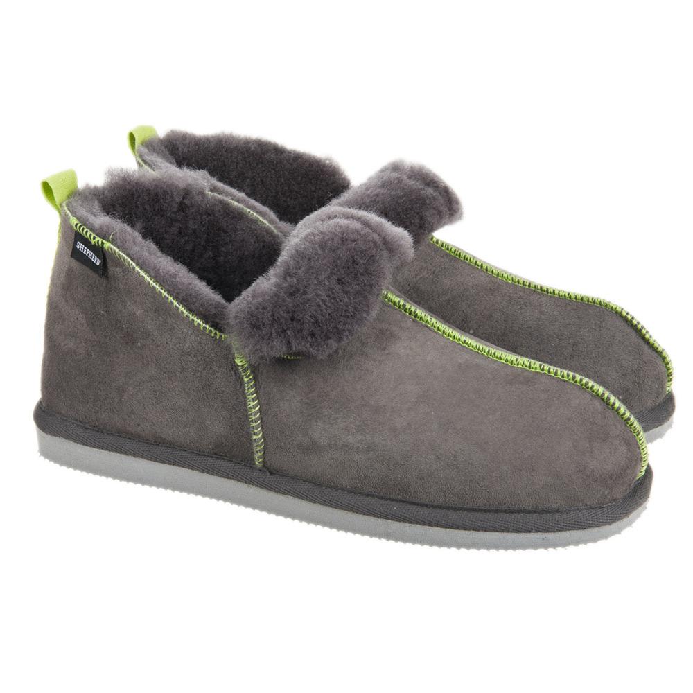 Pantofole Andy 100% di pelliccia di agnellino firmato SHEPHERD