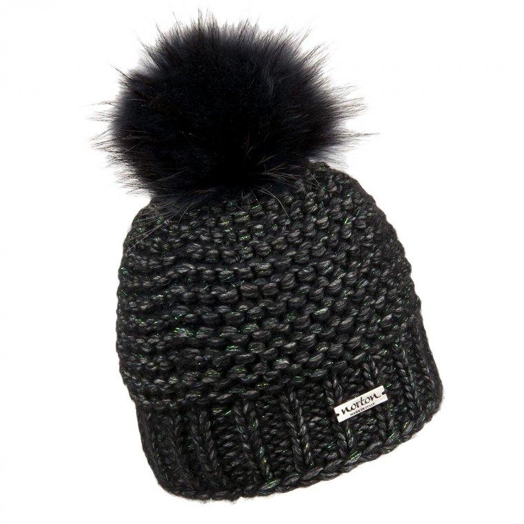 Ilaria berretto a maglia con fodera firmato NORTON fc298a6097ae
