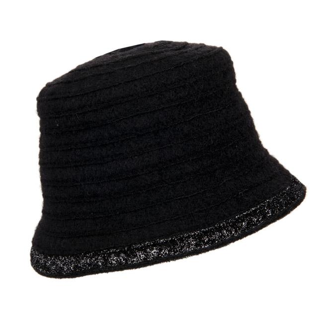 cappello da donna di lana con decorazione lurex
