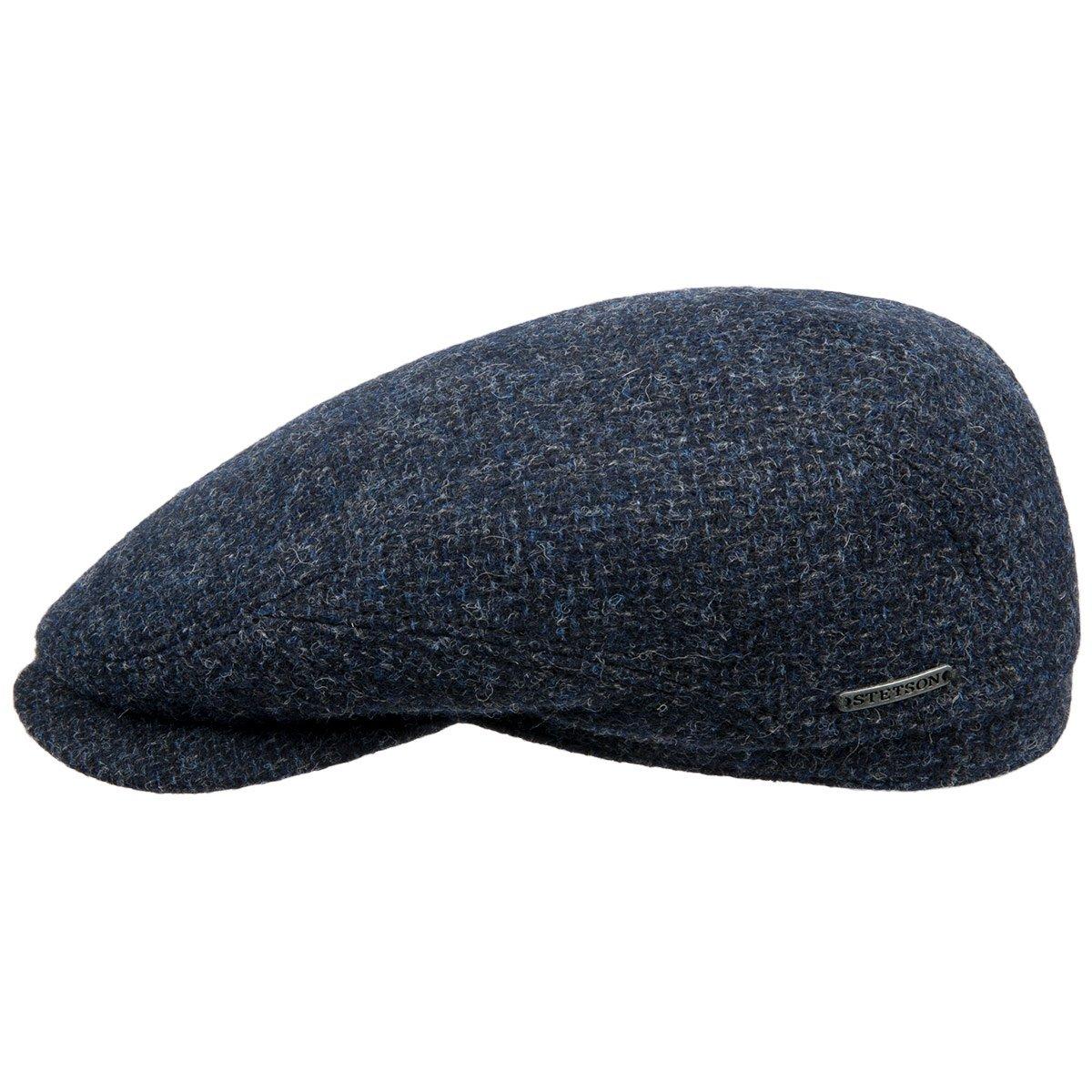 berretto piatto foderato firmato STETSON Driver cap Wool. 46646. berretto da  uomo ... 487bdd6d790f