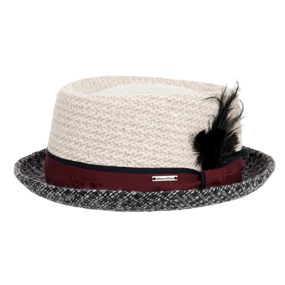 tutti cappelli pork pie a falda piccola b31427c61b19