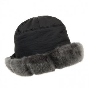 cappello impermeabile ecopelliccia firmato ALESSANDRA BACCI 44b9d63b7704