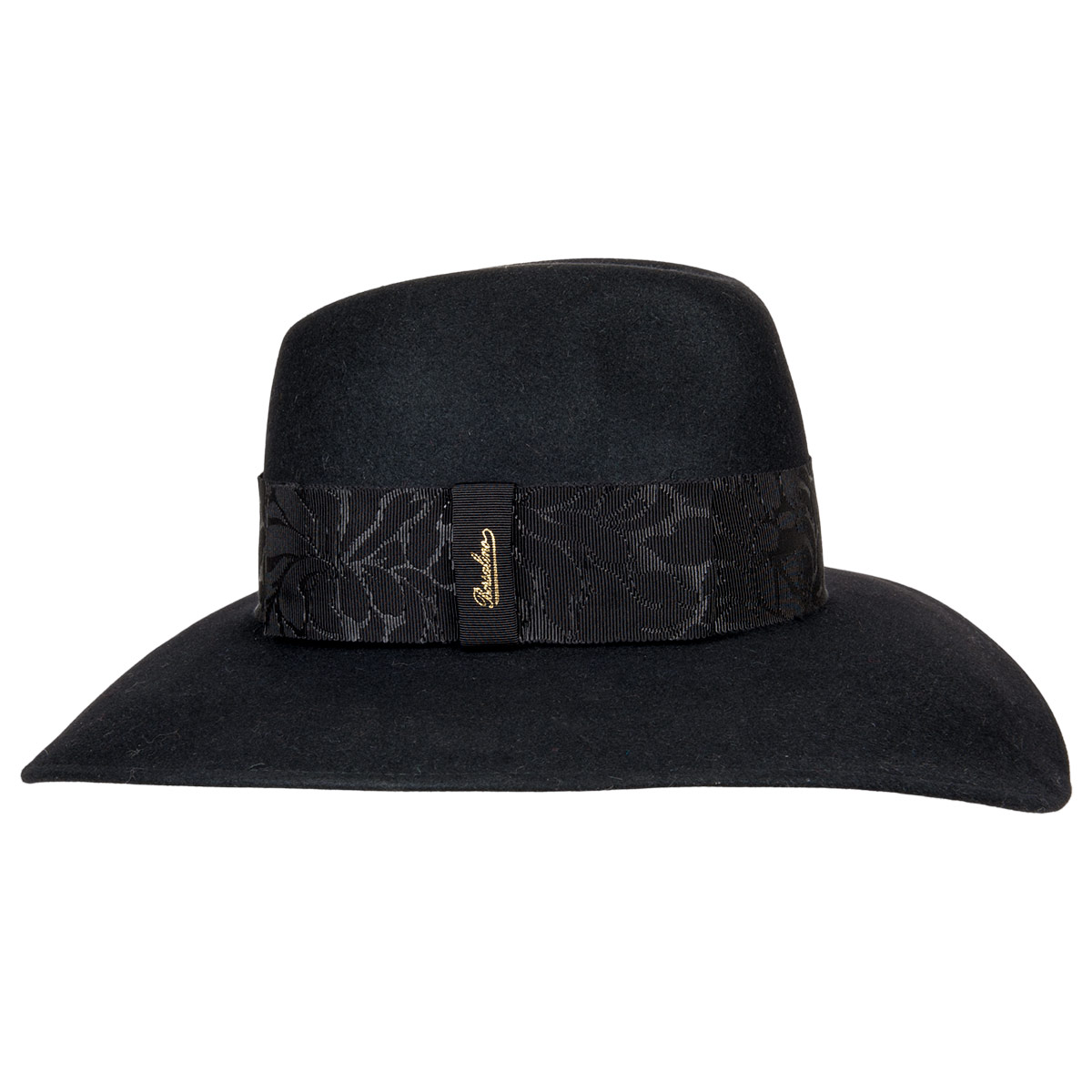 Hat With Large Brim In Hair By Borsalino