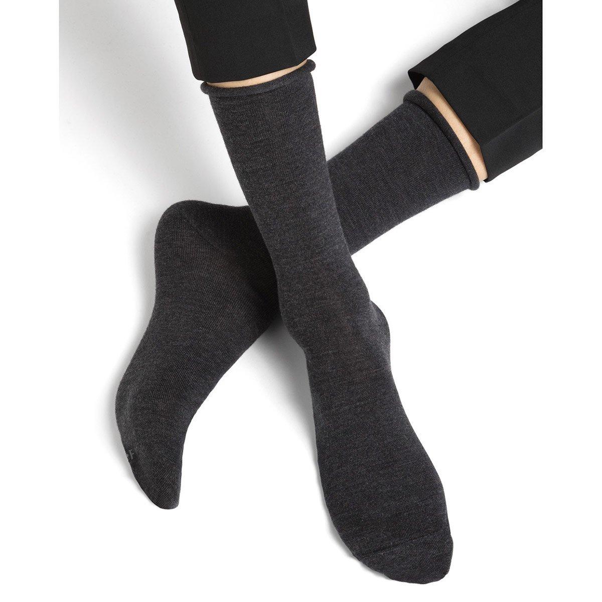 BLEUFORET   mens socks Cashmere --> Online Hatshop for hats, caps,  headbands, gloves and scarfs