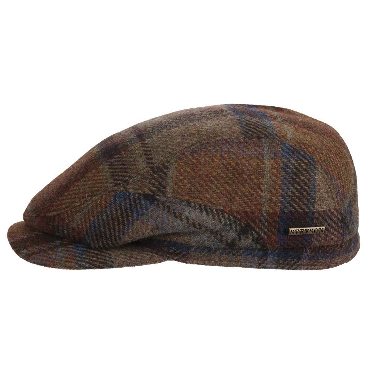 bd436425b21 Belfast virgin wool flat cap signed Stetson