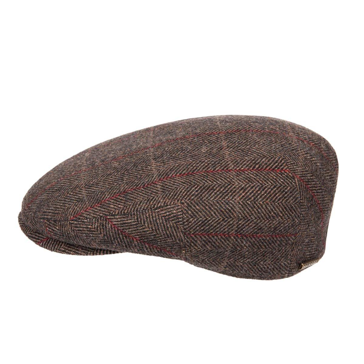Berretto uomo piatto flatcap Kent wool con paraorecchie firmato STETSON ... 337dfdd24e3a
