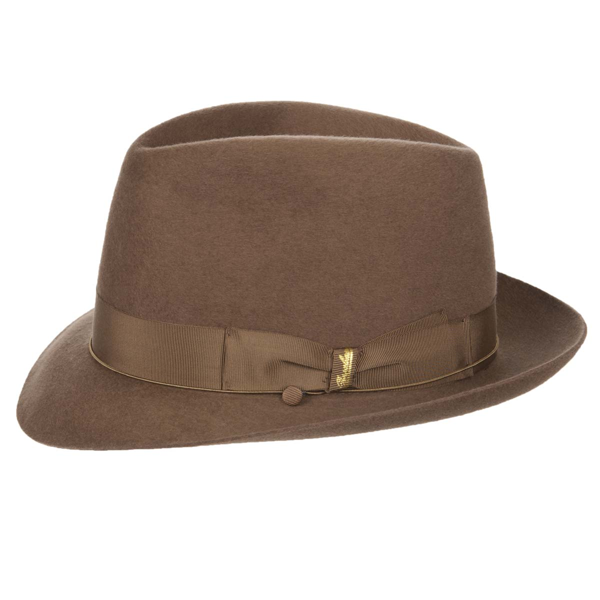 be8f102ae71 Wide brimmed hat in furfelt by Borsalino