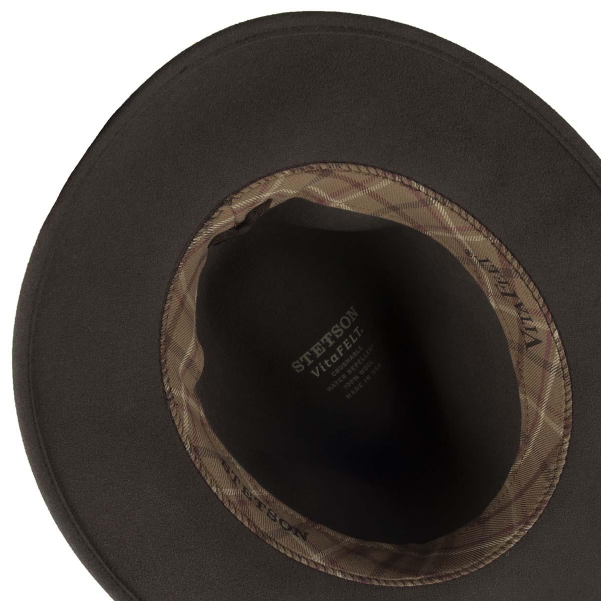 cappello Newark Hampton Vitafelt firmato STETSON 314e7f64a644