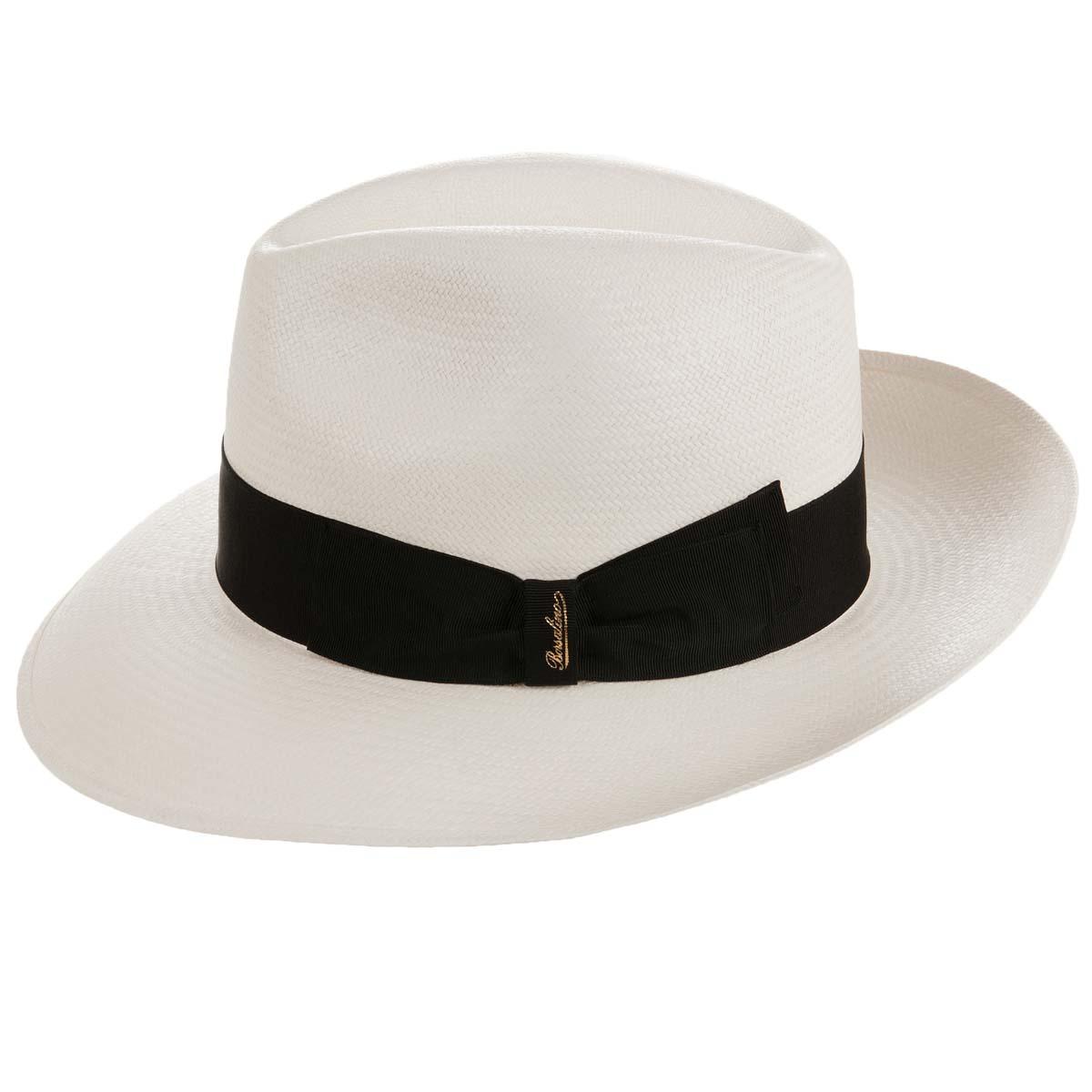 Cappello Panama a tesa larga firmato BORSALINO ... 37f1c73c2b09