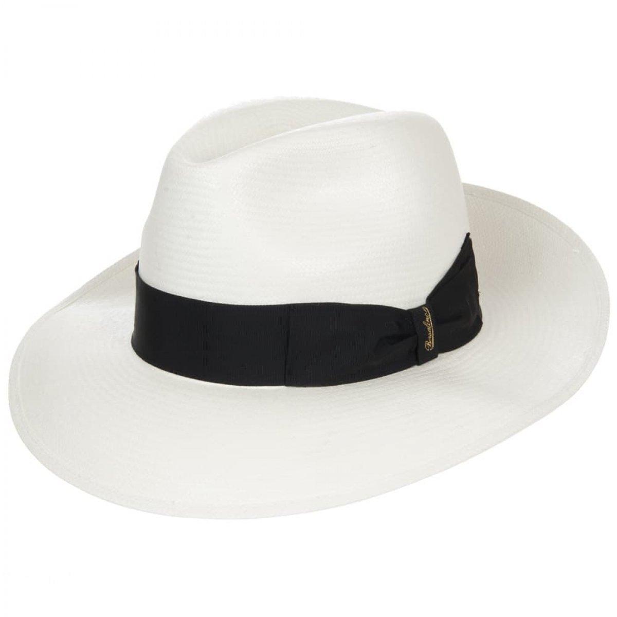 Larga BorsalinoA Tesa Bianco Panama Cappello In MpqzUVSGL