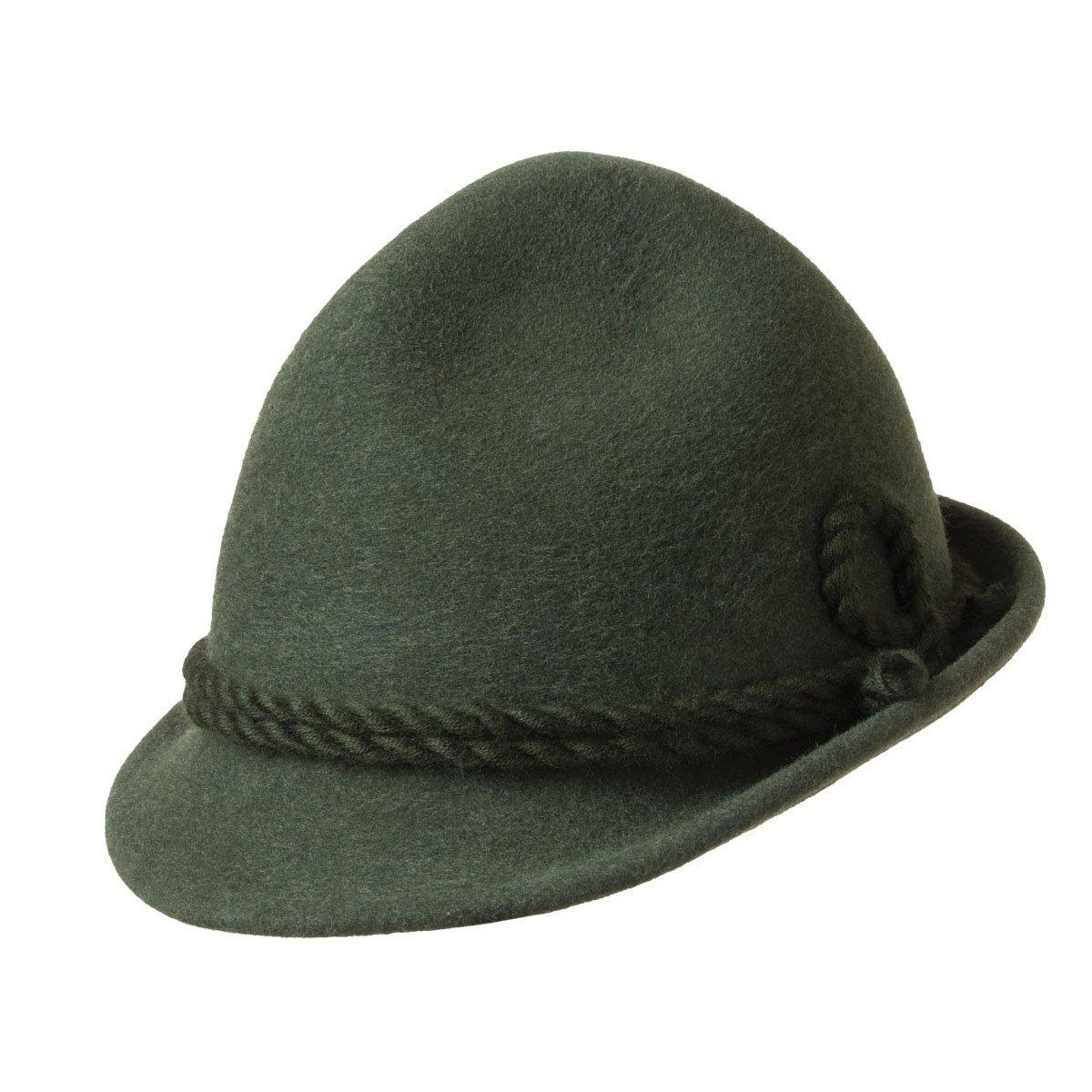Cappello cacciatore con cordone in lana firmato Hutter ... 24a9f04838cf