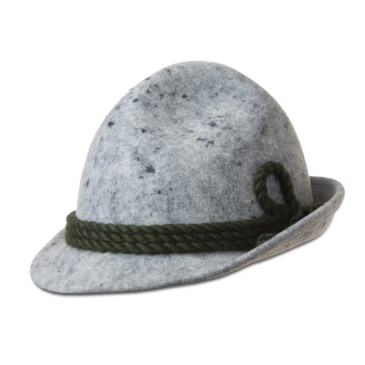 Cappello da montagna in feltro lana lavorato a mano firmato HUTTER 314524a44176