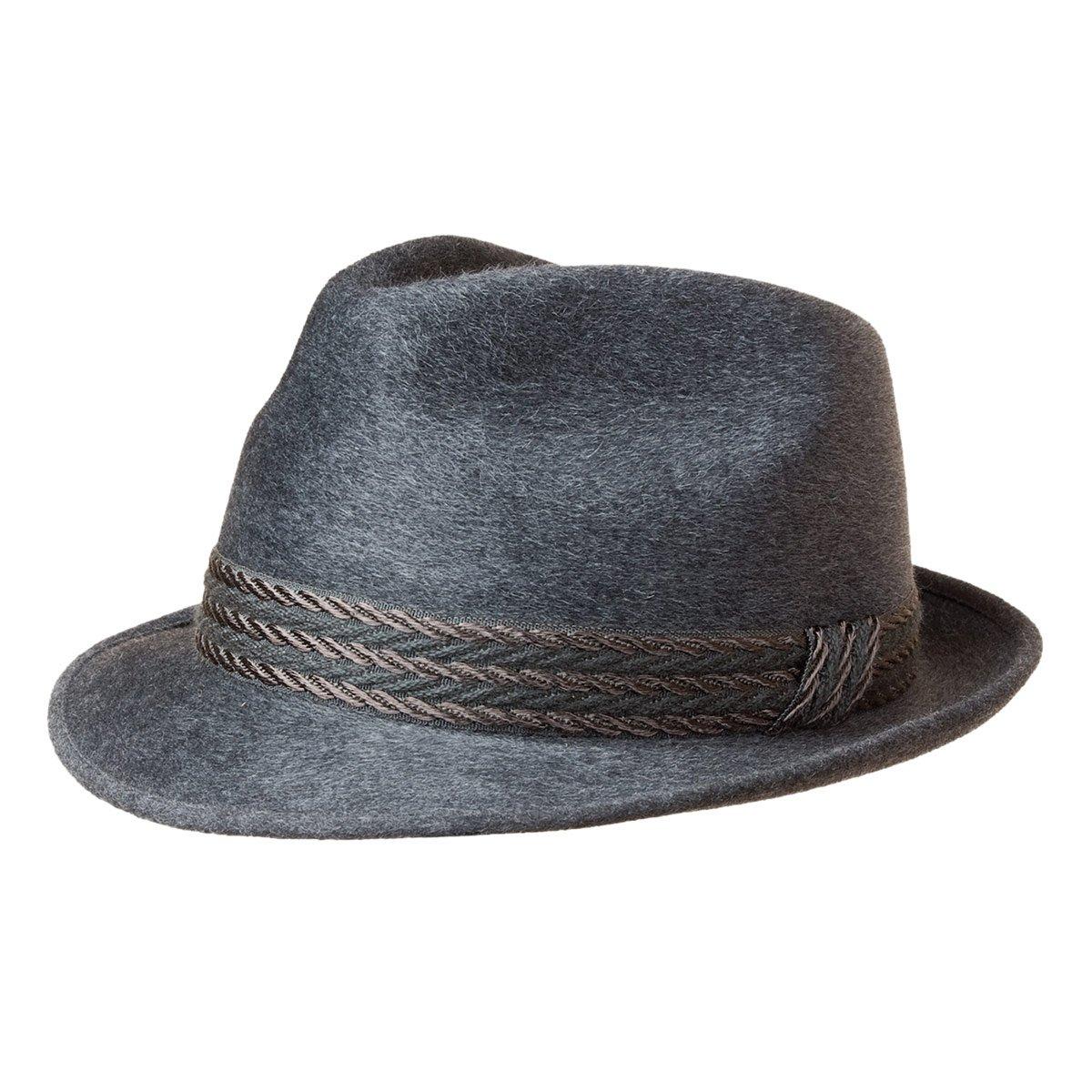 Cappello festivo di feltro lana firmato Hutter 8d5cf46cfaad