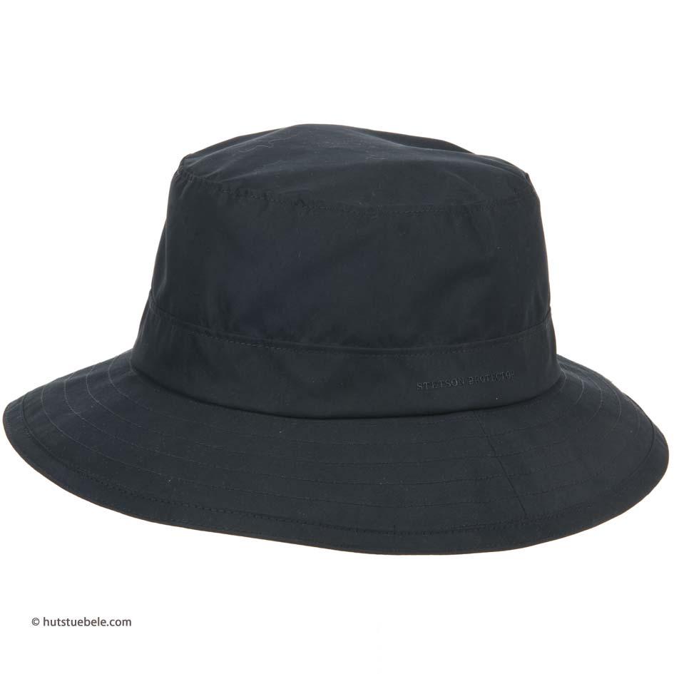 Cappello idrorepellente a tesa larga firmato Stetson ... d23e69ba5797