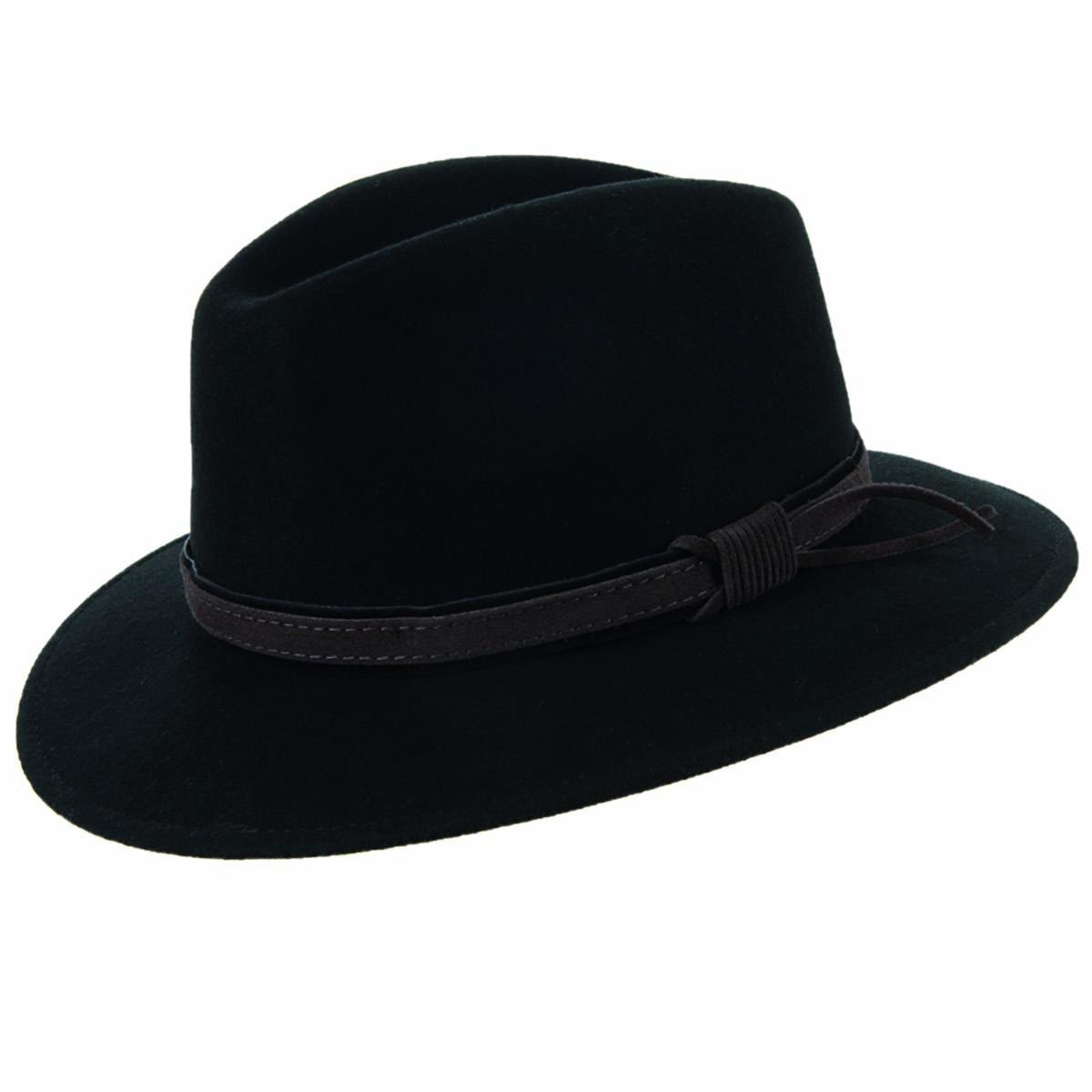 Cappello sportivo in feltro di lana firmato HUTTER 14d82fa76bfd
