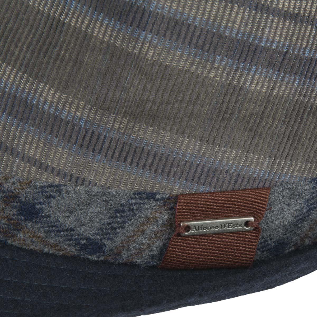 Cappello modello Trilby firmato Alfonso D Este con fodera 322c96a2fa9e