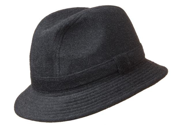 Cappello rotolabile da uomo in loden 7000ece0ed78