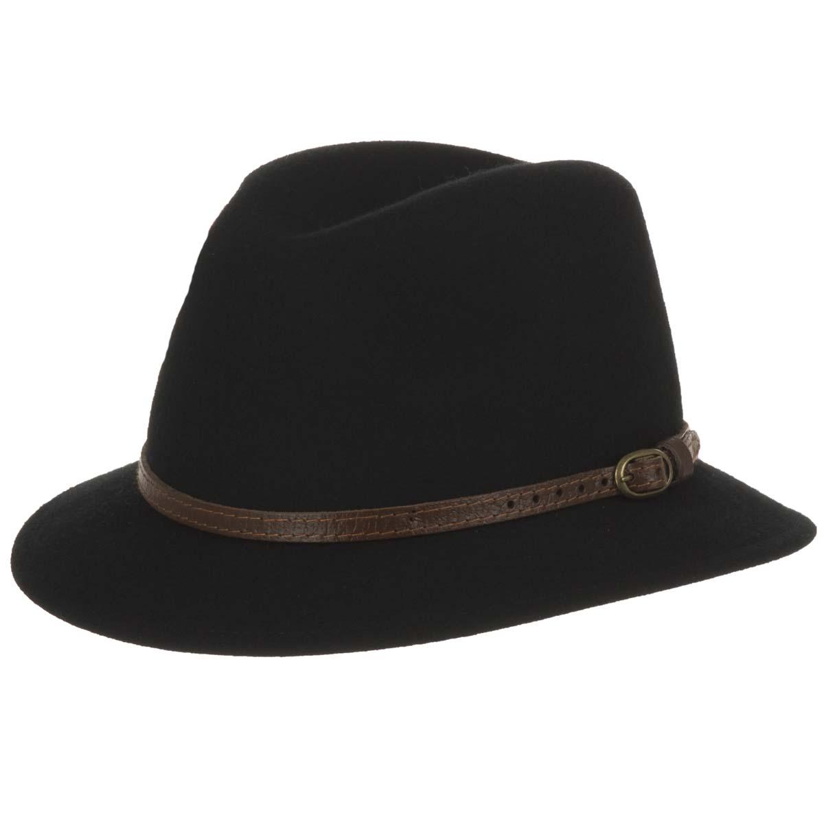 Cappello in feltro di lana a tesa piccola per uomo e donna 4cd81f95cd23