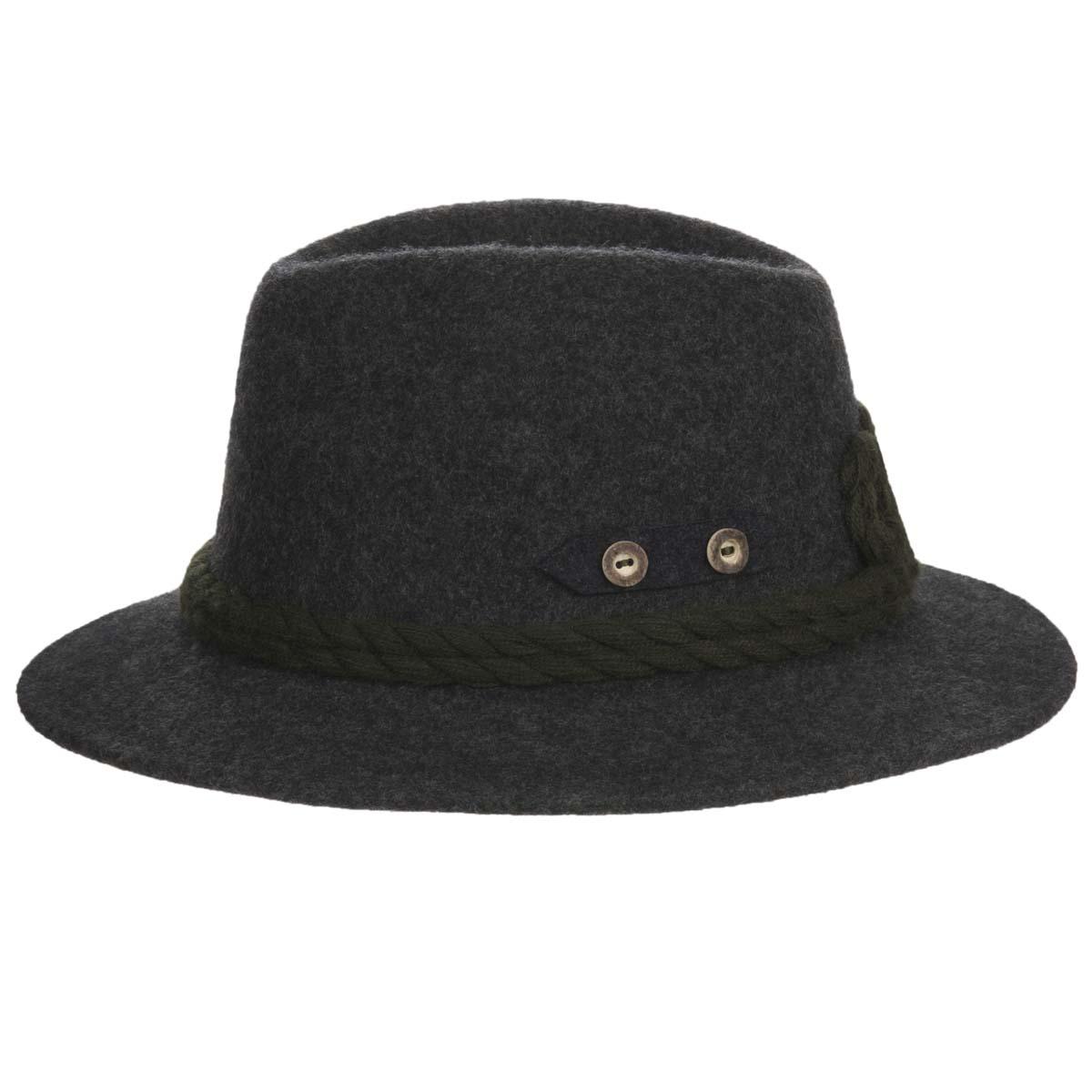 ... Cappello sportivo con cordoni di lana firmato HUTTER ... 7a83311276d4