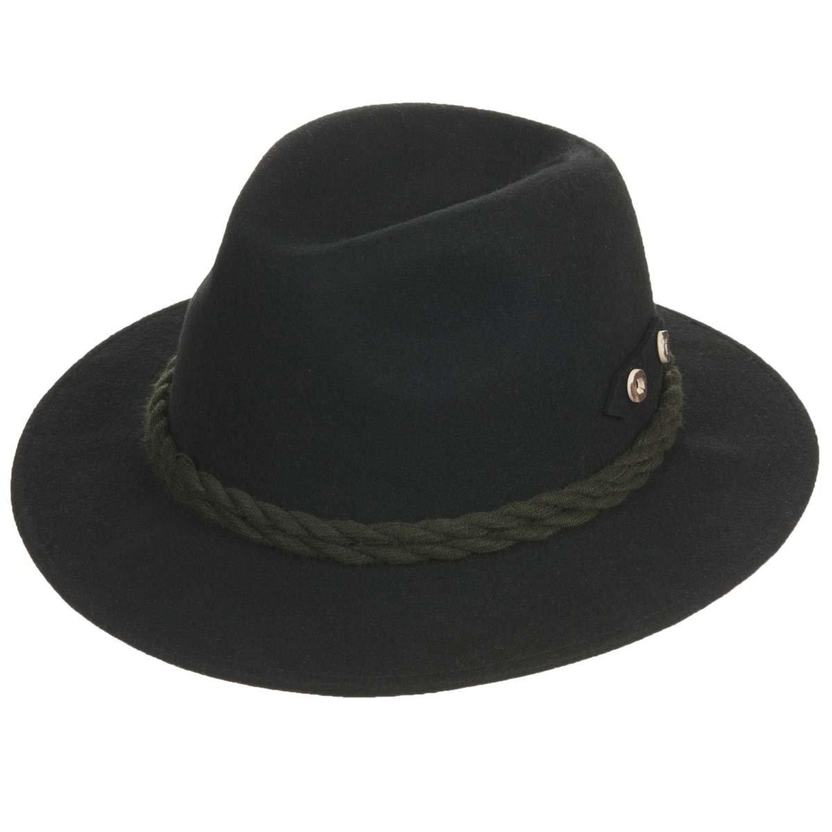 Cappello sportivo con cordoni di lana firmato HUTTER ... 90ea40e34527