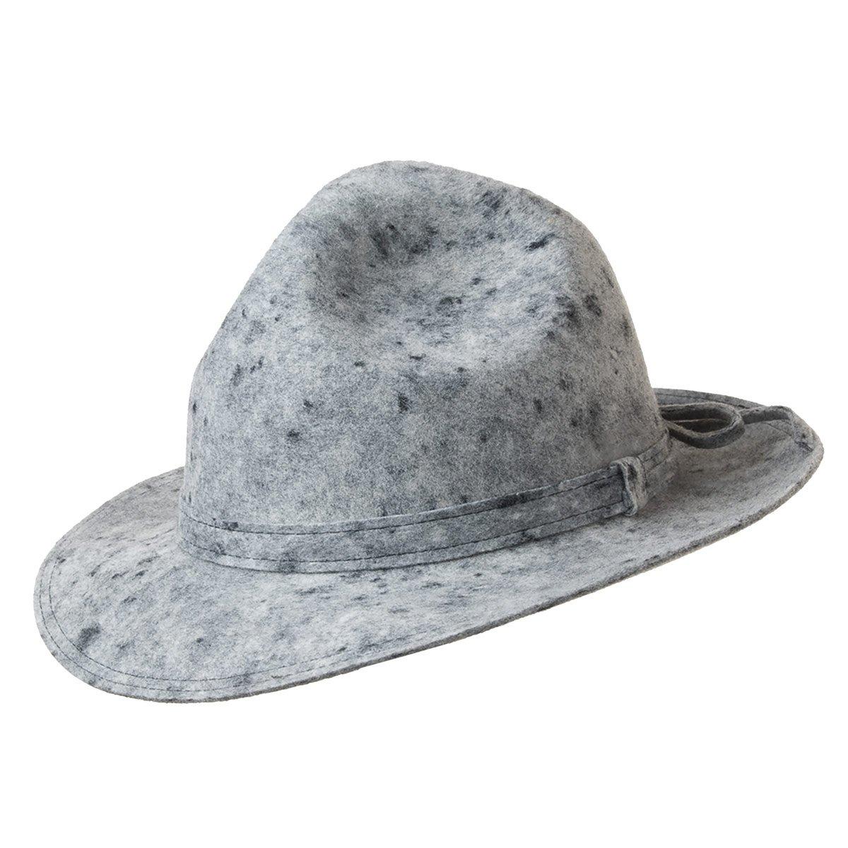 scarpe sportive prezzi economici stile distintivo Cappello tirolese a tesa larga firmato HUTTER
