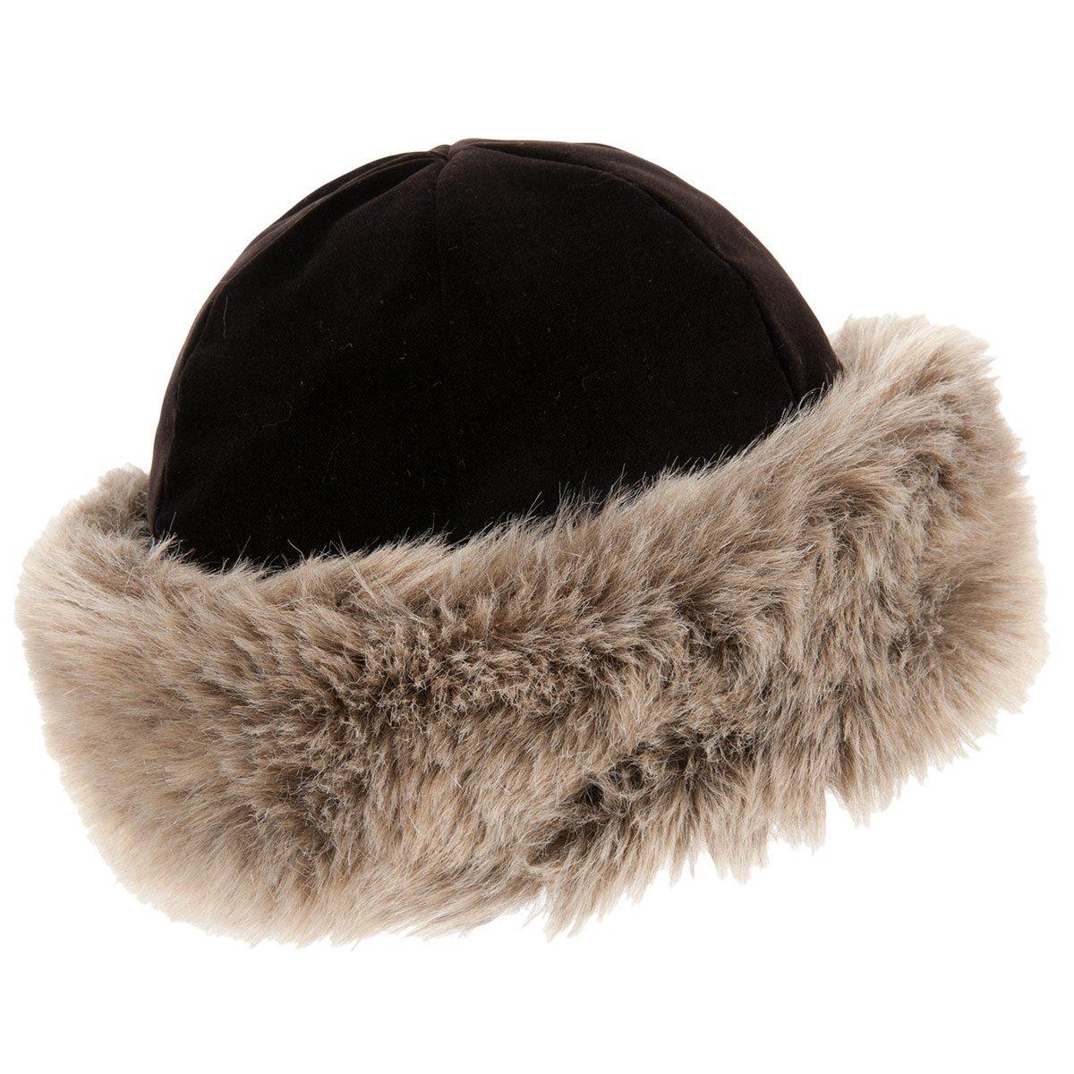 Più votati gamma completa di specifiche design unico Colbacco esclusivo con risvolto in pelliccia ecologica