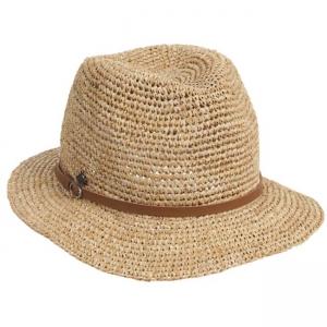 braun Mayser Brigitte Panamahut Damen Schlapphut aus Stroh