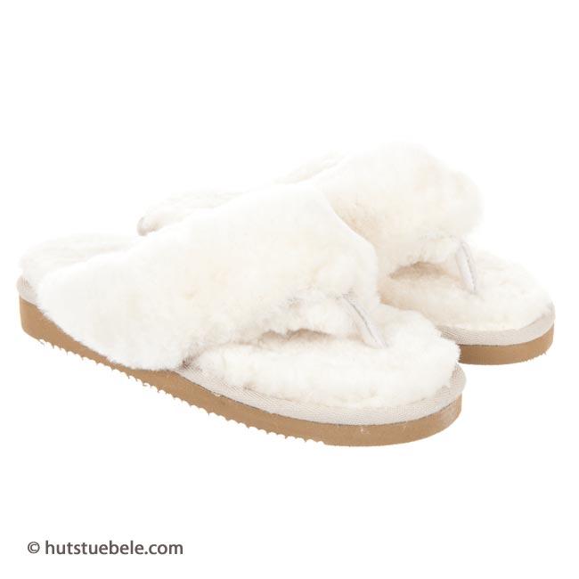 hausschuhe aus lammfell flip flops by shepherd sandalen. Black Bedroom Furniture Sets. Home Design Ideas