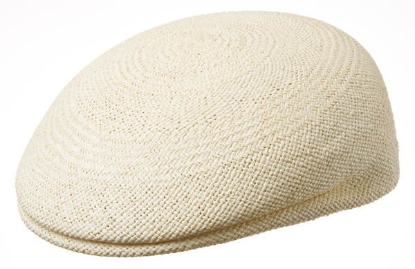 ab193f781f00d light flat cap out of Panama-straw