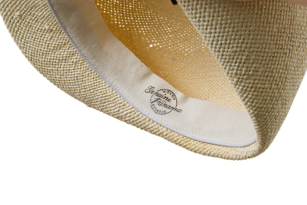 2650d9af04cb3 Flat cap in Panama straw by HUTTER ...