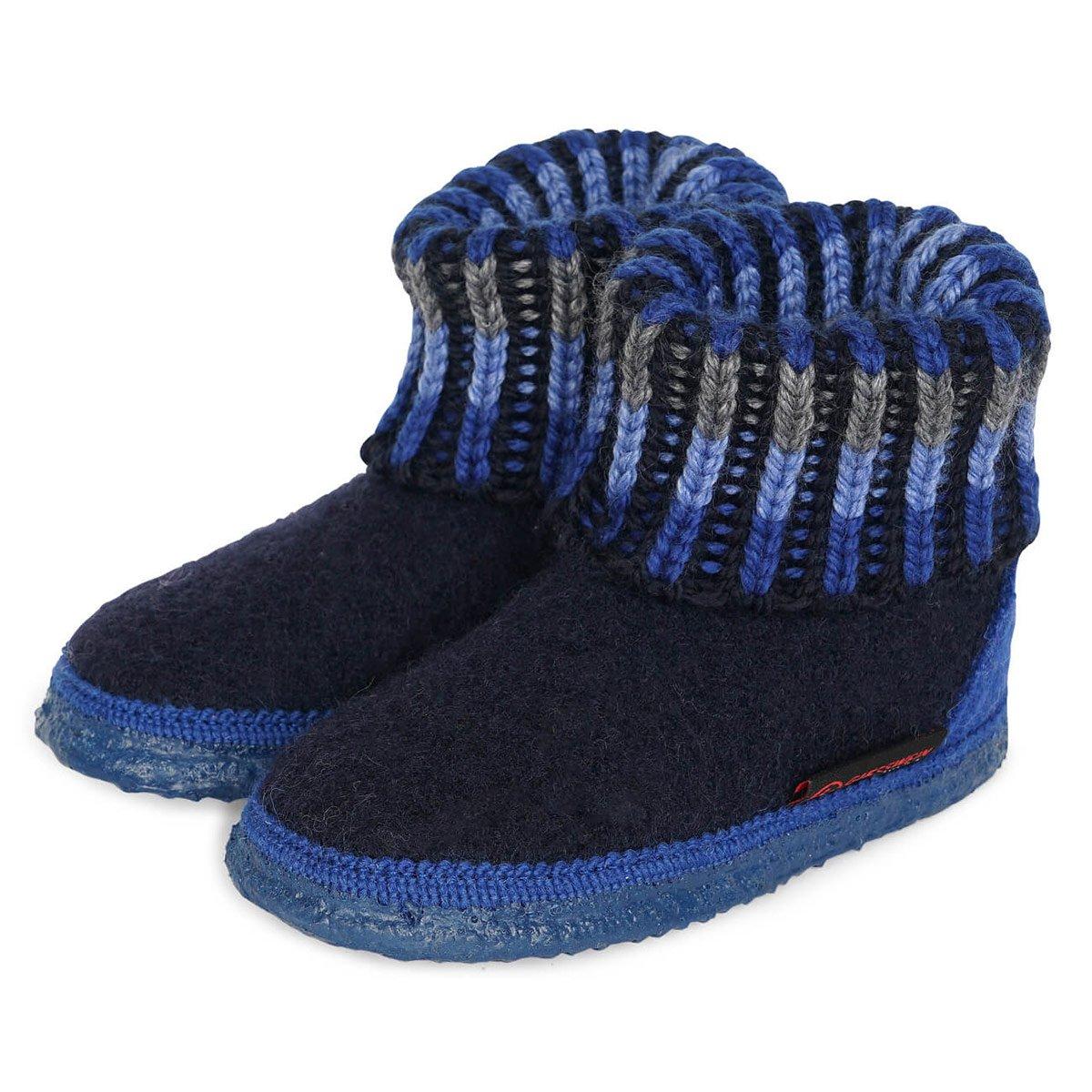 best sneakers 94b55 a5558 GIESSWEIN   Hausschuhe Kinder Modell KRONAU Kids mit Strumpf