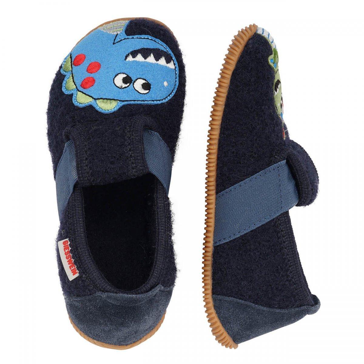 Dinosaur Boy Slippers