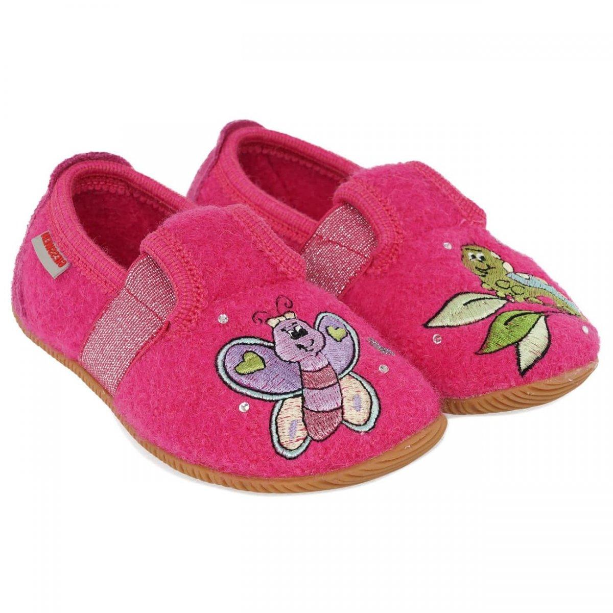 caratteristiche eccezionali vendita uk vendita professionale GIESSWEIN | pantofole bimba modello SCHLIER con motivo farfalla