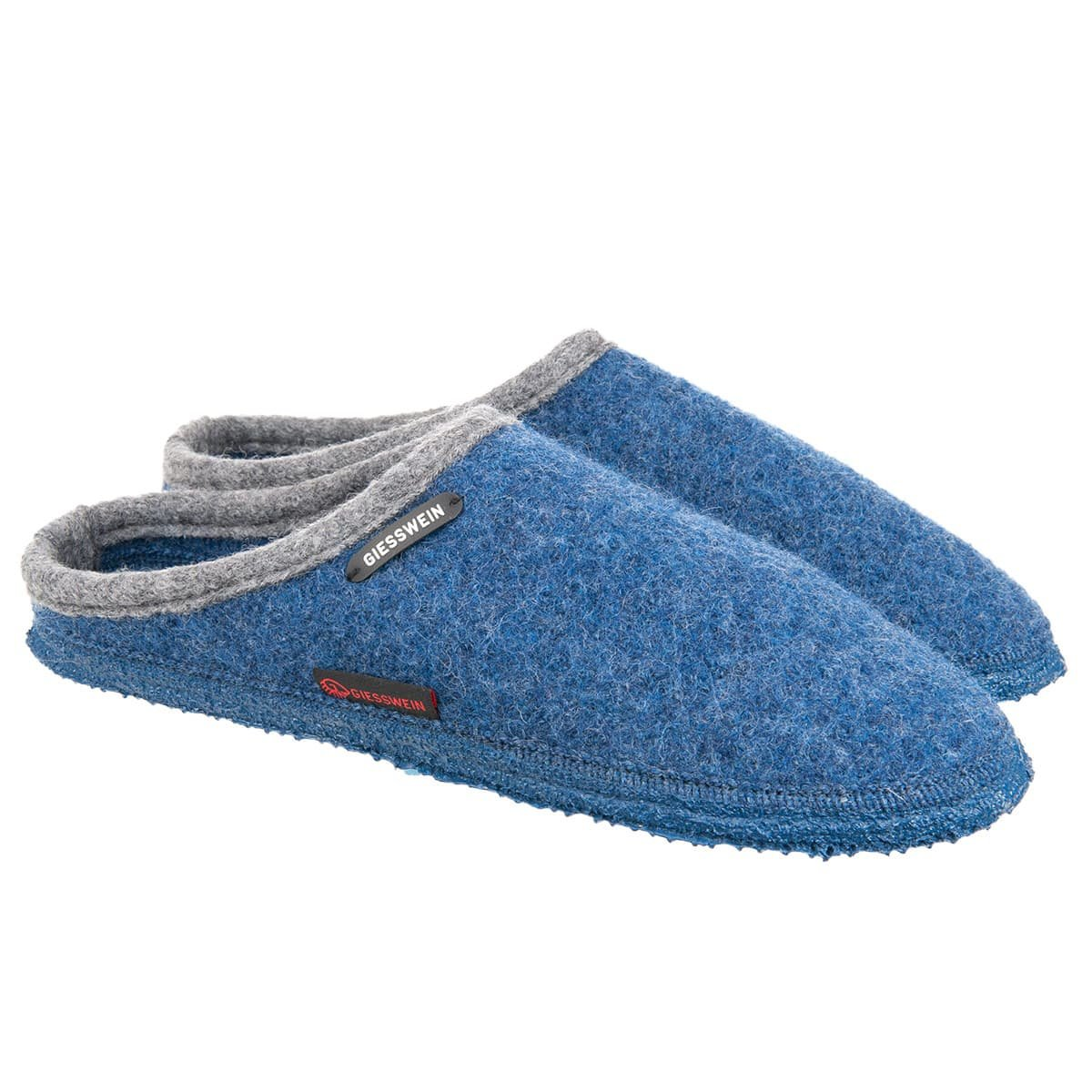 Slippers by GIESSWEIN classic design with non-slip soles f1b6ab7d0a2
