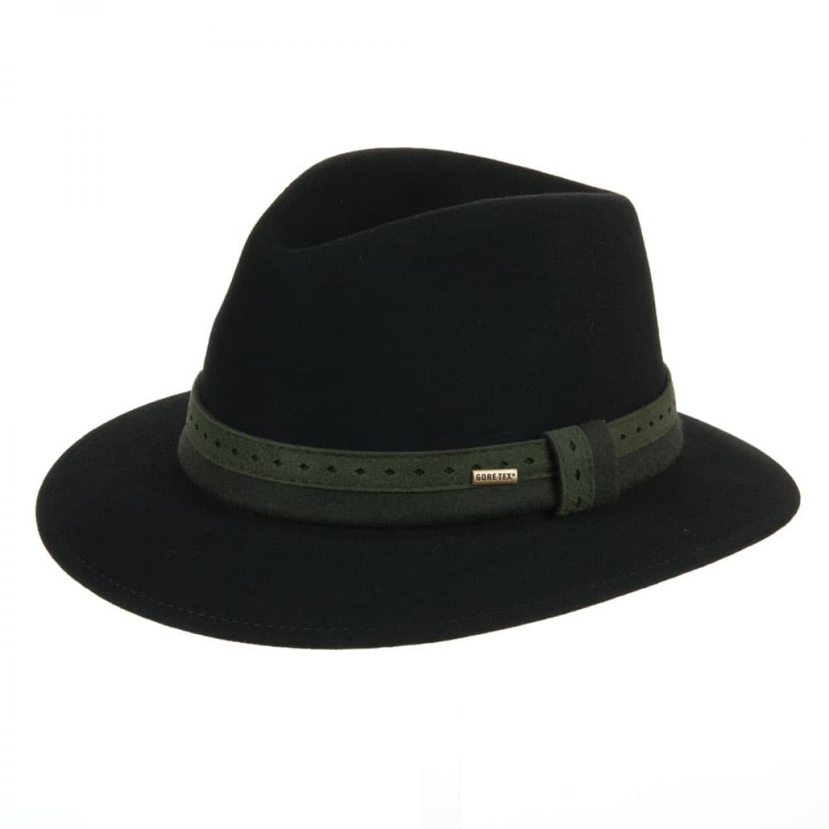 1fe08123f Gore-Tex and felt hat with earflaps integrated
