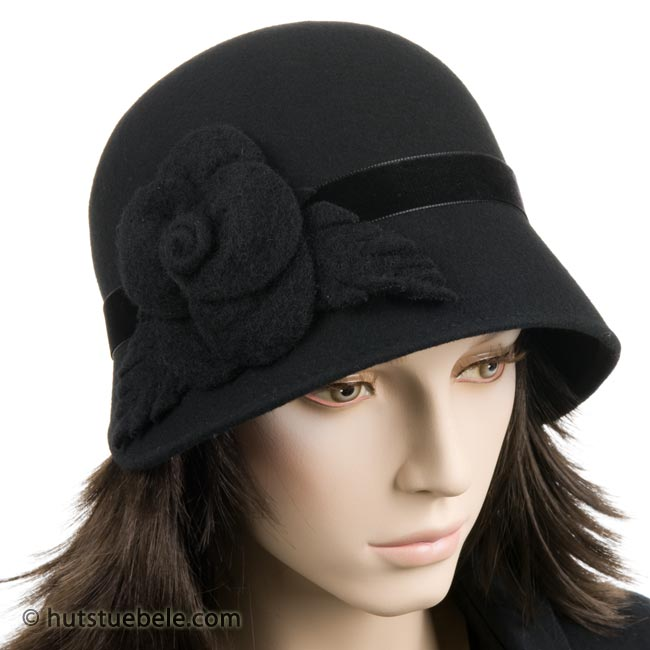 Gradevole cappello da donna tipo anni 30 911313027c93