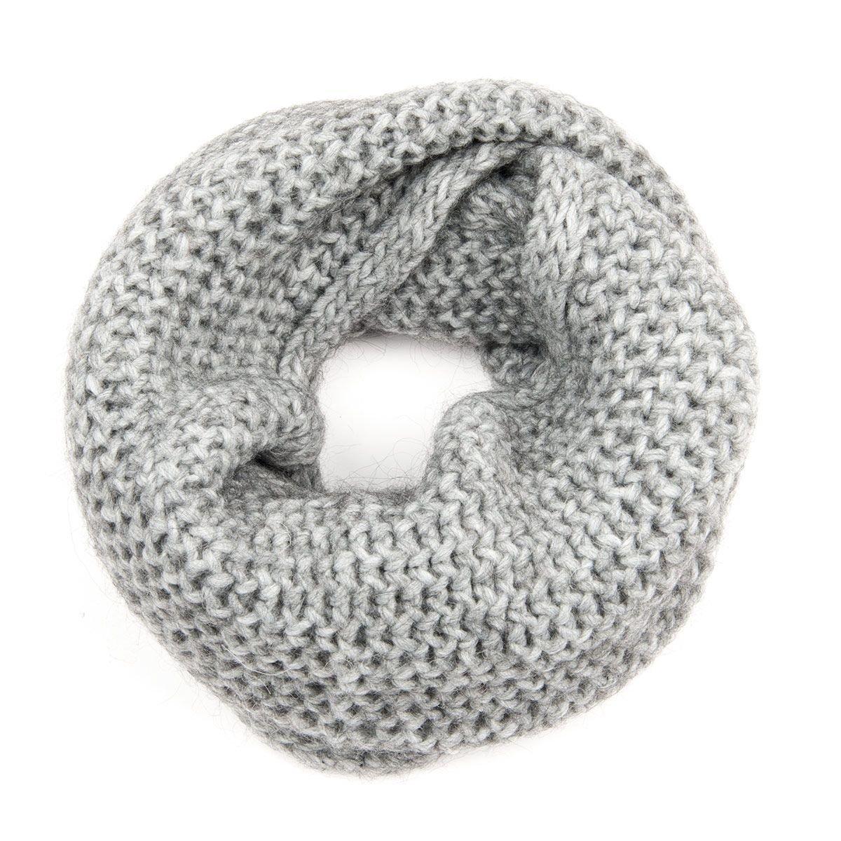 prezzo di fabbrica a piedi a più foto HUTTER   sciarpa loop scaldacollo per donna in lana maglia